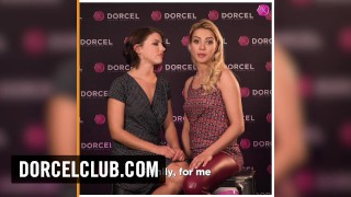 DORCEL INTERVIEW – Adriana Chechik and Cherry Kiss